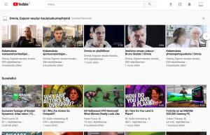 Youtube on maailman suurin videopalvelu