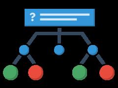 h5p Branching Scenario (Oma polku -skenaario)